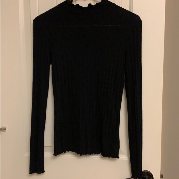Mossimo Supply Co. Tops - Black Long Sleeve Top
